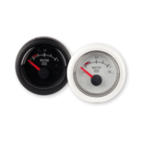 Fuel gauge 24V black
